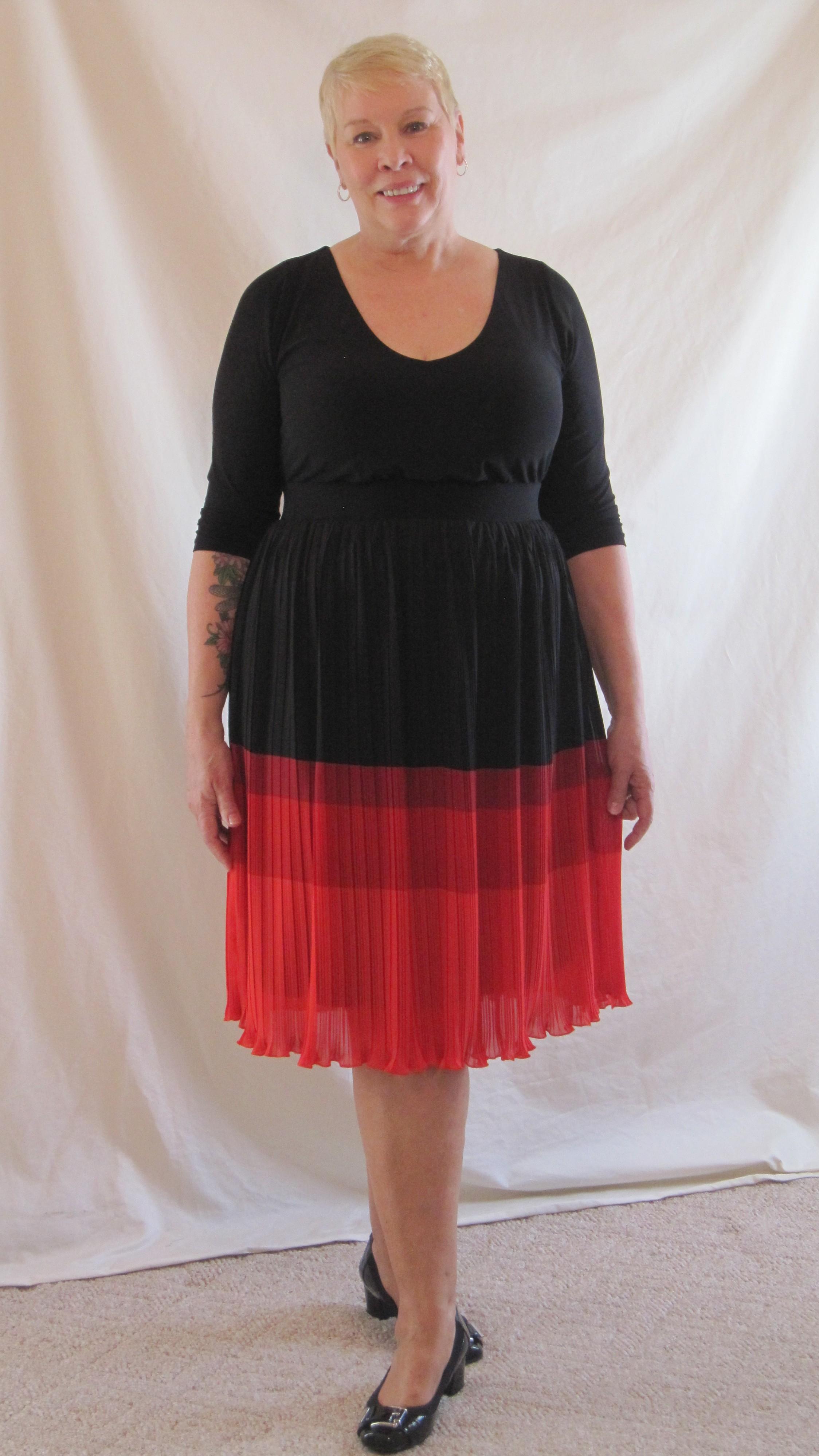 June IGIGI Bardot plus size dress