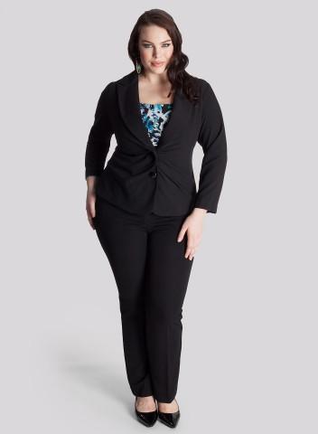 Bbw In Suit